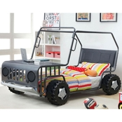 Furniture of America Trekker Jeep Twin Bed