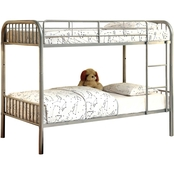 Furniture of America Rainbow Twin Bunk Bed