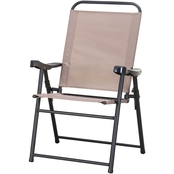 Courtyard Creations Sling Folding Chair