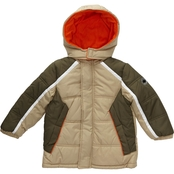 Ixtreme Toddler Boys Colorblock Puffer Jacket
