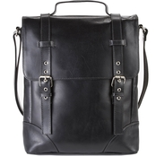 Piel Leather Deluxe Vertical Briefcase