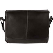 Piel Leather Deluxe Small Messenger