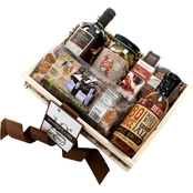 The Gourmet Market Maple Gift Crate
