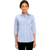 FoxCroft Petite Non Iron Paige Shaped Shirt