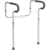 Drive Medical Toilet Safety Frame with Padded Armrests