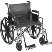 Drive Medical Sentra EC Heavy Duty Wheelchair with 22 In. Seat