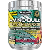 MuscleTech Amino Build Next Gen Energized Fruit Punch, 30 Servings