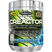 MuscleTech Creactor Blue Raspberry Blast, 120 Servings