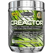 MuscleTech Creactor Lemon Lime, 120 Servings