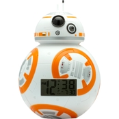 BulbBotz Boys Star Wars Episode 7 BB8 7.5 in. Tall Alarm Clock