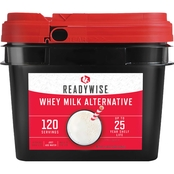 Wise Emergency Food Long Term Dry Powdered Whey Milk, 120 Servings