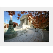 Capital Art US Supreme Court in the Fall Matte
