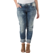 Silver Jeans Plus Size Girlfriend Jeans