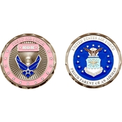 Challenge Coin Proud Air Force Mom Coin