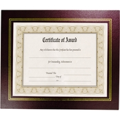 NuDell Leatherette Document Frame, 8-1/2 x 11 inches, 2 Pk.