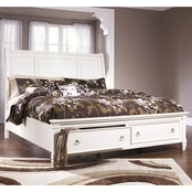 Ashley Prentice Storage Bed