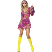 Leg Avenue Women's Hippie Girl 2 pc. Costume