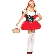 Leg Avenue Women's Racy Red Riding Hood Costume