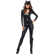 Leg Avenue Women's Feline Femme Fatale 3 pc. Costume