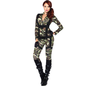 Leg Avenue Women's Pretty Paratrooper 2 pc. Costume