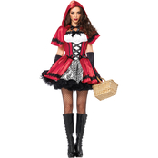Leg Avenue Misses/Plus Size Gothic Red Riding Hood 2 pc. Costume