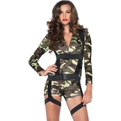 Leg Avenue Women's Goin' Commando 2 pc. Costume