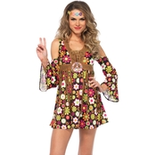 Leg Avenue Misses/Plus Size Starflower Hippie 2 pc. Costume