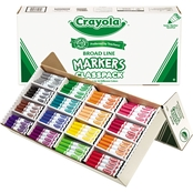 Crayola Classpack Non Washable Broad Point Markers 256 Pk.