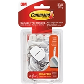 Command General Purpose 0.5 lb. Capacity Wire Hooks