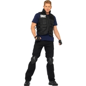 Leg Avenue Men's SWAT Commander 4 pc. Costume