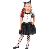 Leg Avenue Girls Enchanted Tuxedo Kitty 3 pc. Costume