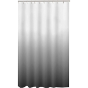 Maytex Happy PEVA Shower Curtain, Black