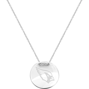 Sterling Silver NFL Arizona Cardinals Tailored Necklace with 18 in. Chain