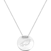 Sterling Silver NFL Philadelphia Eagles Tailored Necklace with 18 in. Chain
