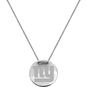 Sterling Silver NFL New York Giants Tailored Necklace with 18 in. Chain