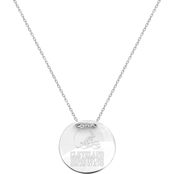Sterling Silver NFL Cleveland Browns Tailored Necklace with 18 in. Chain
