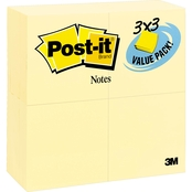 Post-it Notes Original 3 x 3 in. 90 Sheet Pad 24 Pk.