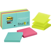 Post-it Pop-up Notes Super Sticky 3 x 3 in. Miami Color Collection Refill 10 Pk.