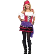 Leg Avenue Juniors 3 pc. Crystal Ball Gypsy Costume