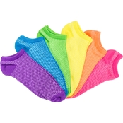 K. Bell Bright Neon Socks 6 Pk.