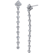 Sirena 14K White Gold 1 CTW Earrings