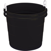 Homz 17 gal. Black Rope Tub 2 Pk.