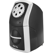 X ACTO SharpX Performance Electric Pencil Sharpener, Black/Silver
