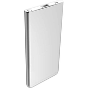 Powerzone 5000mAh Power Bank, 2.1A, Super Slim