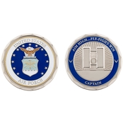 Challenge Coin U.S.A.F. Captain Rank Coin