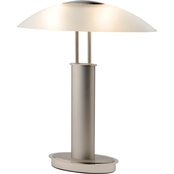 Artiva USA Avalon 18 In. Two-Tone Touch Table Lamp