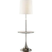 Artiva USA Enzo Adjustable Chrome Floor Lamp