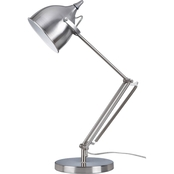 Artiva USA Silverado 27.5 In. Adjustable Swing Arm Table Lamp