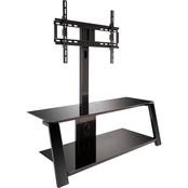 Bell'o Triple Play Flat Panel Tilt Mounting System TV Stand