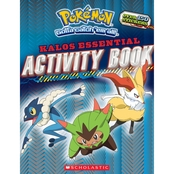 Pokemon Kalos Essential Activity Book